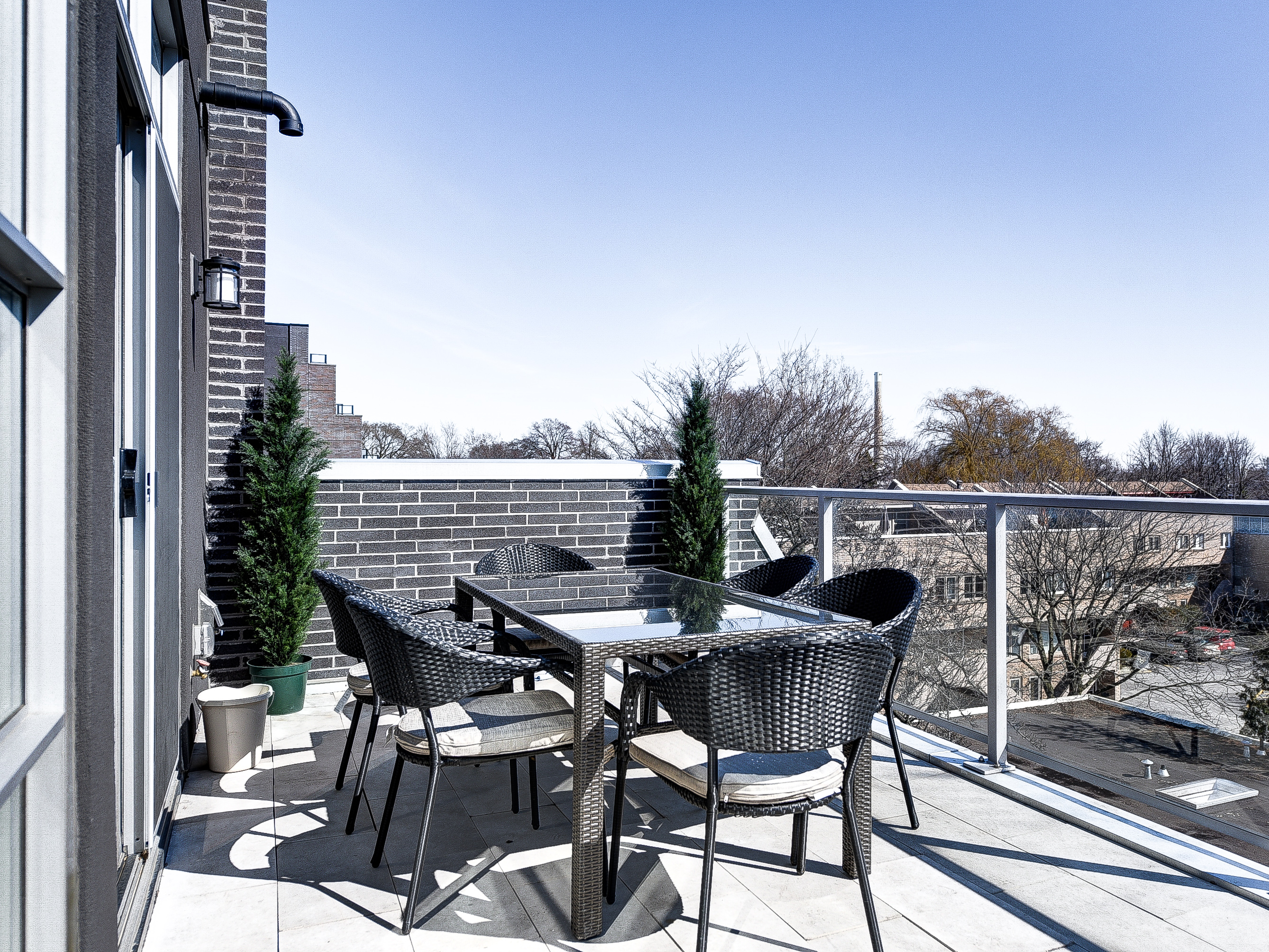 Patio Furniture Rental Toronto Toronto Home Staging Rent 7 Pcs Tribeca Outdoor Dining Outdoor